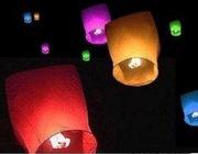 Небесні ліхтарики (Ужгород) небесные фонарики,  летающие фонарики
