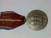 Чехословаччина. Пам'ятна бронзова медаль битви  Dukla Pass,  рідкісна.