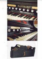 Фисгармония (мини-орган) Mannborg,  конец 19 века