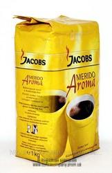 Кофе в зернах и молотое Jacobs Merido Aroma 1кг (оптом дешевле)