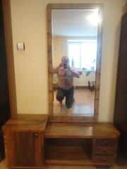 Мебель 50х годов. Шкаф и трюмо.