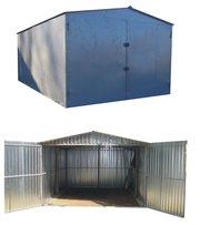 металевий гараж різних розмірів швидкозбірний