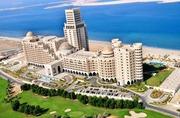 Beach view 7 star al hamra beach resort hotel apartment for sale