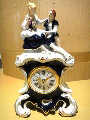 Фарфоровые часы Royal Dux Bohemia