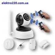 Simara 007 - система видеoнаблюдения в комплекте с охранной сигнализац