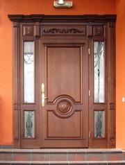 Изготавливаем двери из массива ясеня и дуба по индивидуальным эскизам