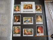 Продам филателические марки в большом размере